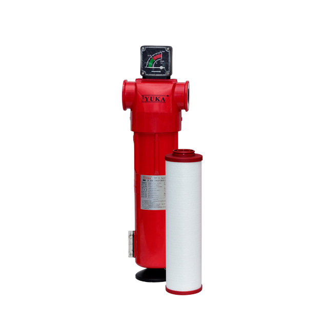 YF060 Series Filtration Performance down to 0.01μm Follow ISO8573-1.(2010) Compressed Air Filter