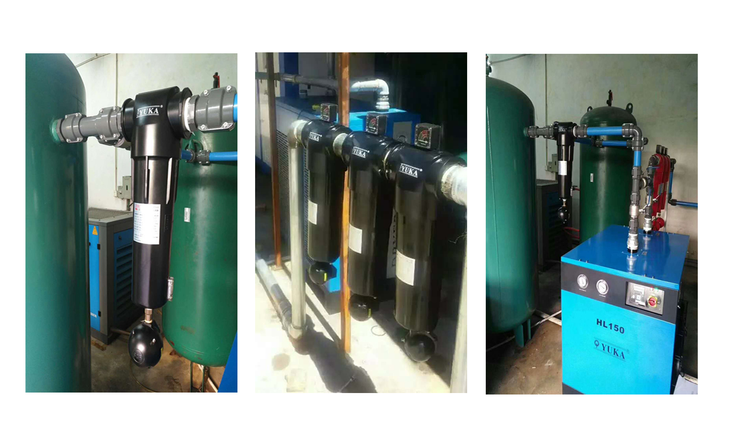"High Quality FWS010 RC1/2"" 2.4m³/min With 99.73% Efficiency Cyclone Air Compressor Water Separator"