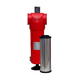 "YF130 RC 3"" Flow Rate 25m³/min 0.01μm With CE Activated Carbon Compressed Air Filter"