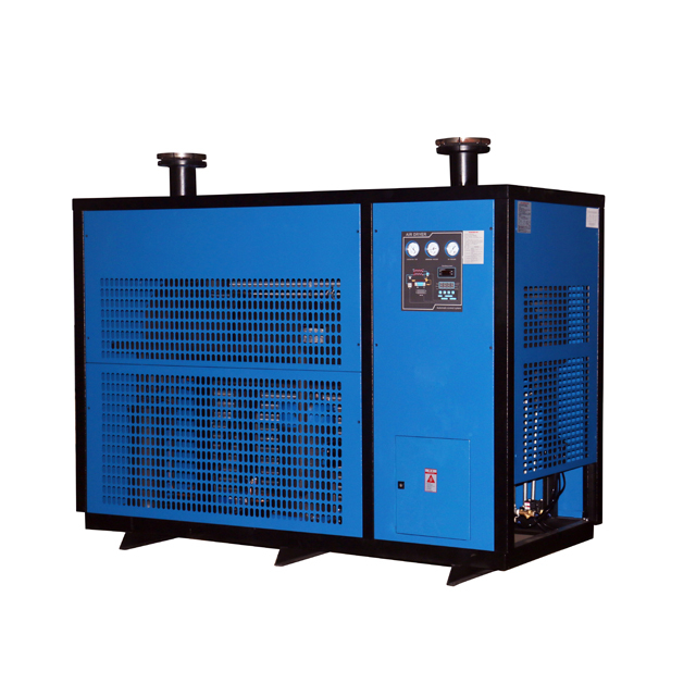 GHL150 Flow Rate 17m³/min DN65 Flange 380V 50HZ R22 Air Cool Type Refrigerated Compressor Air Dryer